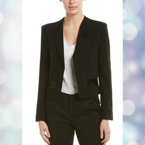 Zadig & Voltaire open front cropped blazer size Sm